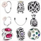 New Arrival Fashion Charms 925 Silver Beads Rings Fit European Bracelets UK