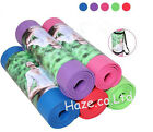 Fitness Yoga Mat Non Slip Soft Resilient Natural Rubber Thickening Exercise