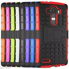 Armor Heavy Duty Hybrid Stand Hard Skin Case Cover For LG G4