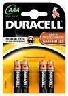 CONFEZIONE BATTERIE MINISTILO DURACELL BASIC 1,5V AAA PILE ALCALINE MN2400 LR03