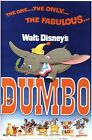 Vintage Dumbo Movie Poster A3/A2/A1 Print