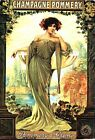 19th Century French Champagne Advertisement Poster  A3/A2 Print