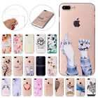 TPU Thin Soft Silicone Gel Rubber Case Skin Cover For iPhone 6S 6 7 SE 5S 8+ New