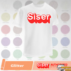 Siser Glitter HTV T-Shirt Vinyl 20' x 12', 5 Yards - 39 COLORS