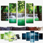 Large Modern Abstract Arts Painting Canvas Picture Home DIY Decor Unframed 5PCS