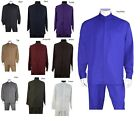 lateral band walks - New MEN'S BAND COLLAR LONG SLEEVE TWO PIECE SETS CASUAL WALKING SUITS M2826