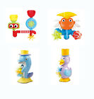 deAO Fun Bath Toys - Waterfalls and Mills for Babies and Toddlers Bath 4 Designs