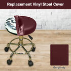 BAR STOOL COVER Heavy Duty STAPLE ON Seat Vinyl Replacement - Kitchen Pub Office