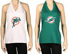 Miami Dolphins Embroidered Logo V Neck Halter Top Football Jersey Like NFL 9