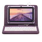 "7"" Quad Core 8GB Lila Tablet PC Android4.4 Dual Kamera Bluetooth Kinder Geschenk"