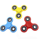 3-Pack: Fidget Hand Tri-Spinner Anxiety Stress Relief Toy -in Assorted Colors