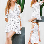 New Women Holiday Summer Casual Beach Evening Party Cocktail Picnic Short Dress