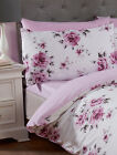 Vintage Inspirations Heather Fitted Sheet Bed Bedding Linen Mattress Cover