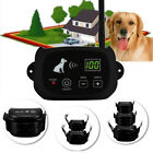 Wireless Pet Fence Rechargeable Containment 1 / 2 /3 Dog Systems LCD Waterproof