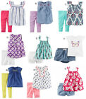 Carters Baby Girl Summer Outfit 2pc Set Infant Clothes 12 18 24 Month NWT NEW