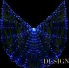 LED ISIS WINGS 300 lights belly dance costumes light club show 5 color to choose