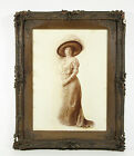 Vintage Figurative Edwardian Woman Photograph