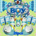 SELECTIONS BABY GIRL BOY SHOWER Foil Balloons Decor Birthday Party Supply lot BM