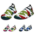 Hot Mens Water Shoes Aqua Socks Exercise Pool Beach Swim Slip Surfing Camouflage