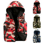 New Style Mens Quilted Padded Puffer Bubble Warm Winter Thick Vest Jackets Coat