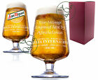Personalised Engraved 1 Pint San Miguel Lager Chalice Glass Anniversary Gift