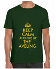 KEEP CALM & FIRE UP THE AVELING TSHIRT porter steam engine roller rally t shirt