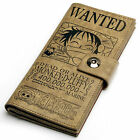Fashion Anime Attack on Titan One Piece Fairy Tail Soft Leather Printed Wallets