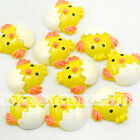 10/20/50/100pcs Yellow Easter Duck Cartoon Resin Flatback Craft Decoration