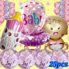 SELECTIONS BABY GIRL BOY SHOWER Foil Balloons Decor Birthday Party Supply lot BQ