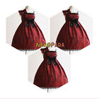 Cute Holy Lantern Women's Lolita Dress JSK Sleeveless Dress Shoulder Bow Cross