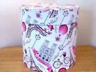 NEW Gorgeous Decorative Bath Tissue Toilet Paper Roll Lidded Holder Container