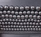 Natural Black Hematite Gemstones Round Beads 2mm 3mm 4mm 6mm 8mm 10mm 12mm 16''