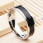 Luxury Men Boy Customize Titanium Stainless Steel Ring US Size 7-12 Charm Lot