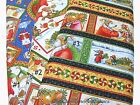 CLEARANCE~NOT A CREATURE WAS STIRRING CHRISTMAS FABRIC~RJR~BY THE YD~3 PATTERNS