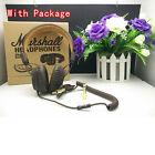 Original Remot Mic Major Leather Marshall Headphone Earphone Headset Earbud