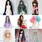 8-9'' 1/3 BJD Doll SD Wig Dollfie DZ DOD LUTS Long Straight Curly Colored Hair