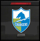 SAN DIEGO CHARGERS DECAL DIGITALLY PRINTED HORSE  &  DIE CUT $14.99 USD