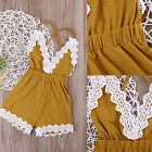 baby show reviews - Jumpsuit Summer Clothes Toddler Baby Girl Strap One-piece Romper Girls Jumper
