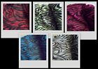 ZEBRA Pink Black/White Green Red Blue Stretch Knit Fishnet Fabric BTY ~ 5 colors