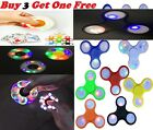 New FIDGET SPINNER Hand Finger Focus EDC LED Light Glow Up Stress Relieve Toys