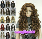 Taylor Womens Elizabeth New Wigs 15 colors Long Curls Daily wig+Free Wig Cap