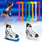 Внешний вид - 1 Pair Durable Plastic Ice Hockey Skate Walking Blade Protective Cover Guards AF