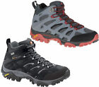 Mens Merrell Moab MID Gore-Tex Waterproof Hiking Vibram Boots Sizes 6.5 to 12