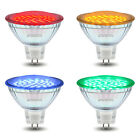 Red Green Blue Yellow 12V LED MR16 Low Voltage Light Bulb GU5.3 Colour Spotlight