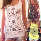 Ladies Womens Fashion Summer Vest Top Sleeveless Blouse Casual Tank Tops T-Shirt