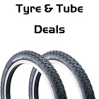 "Vandorm 20"" BMX Comp 3 Bike Tyre 1.75"" 1.95"" 2.125"" Tyre & Tube DEAL OPTIONS"