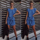 Fashion Women Bodycon Summer Sleeveless Party Cocktail Casual Short Mini Dress