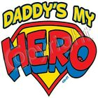 Daddy  my hero kid TShirt robber infant toddler cotton US size new