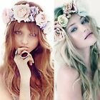 Boho Style Flower Floral Women Hairband Headband Crown Party Girl Wedding Beach