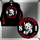 "HELLS ANGELS BIG HOUSE CREW ""LAUGHING DEVIL"" SUPPORT T-SHIRT - LONG SLEEVE"